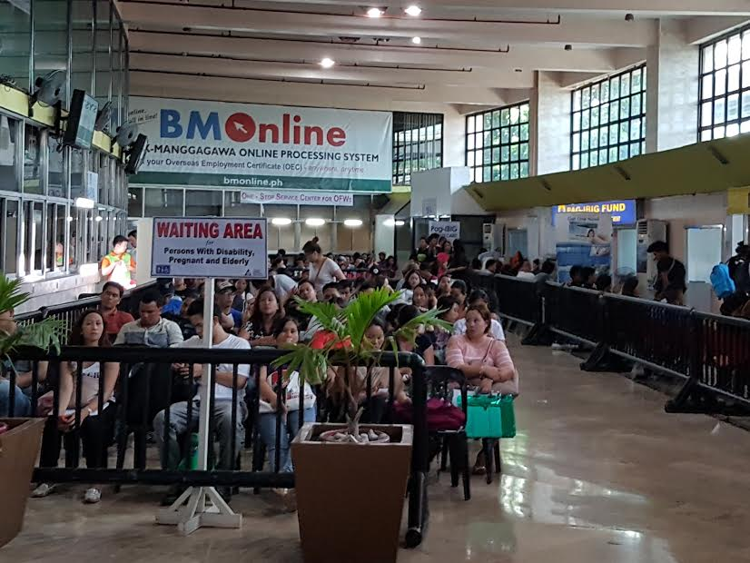 Bishop to gov't: Don't be a burden for OFWs