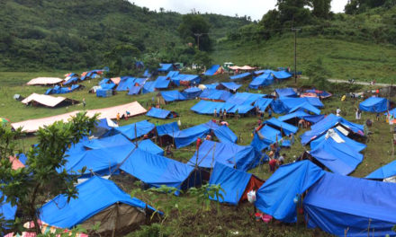 Rain worsens situation of displaced quake victims