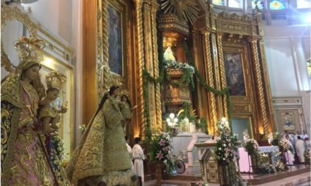 3 pontifically crowned Marian images feted