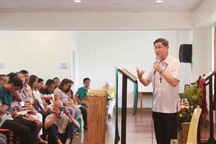 Cardinal Tagle: 'Communion unthinkable without mission'
