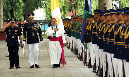 Military Ordinariate welcomes its Apostolic Administrator