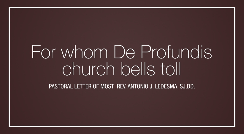 For whom De Profundis church bells toll