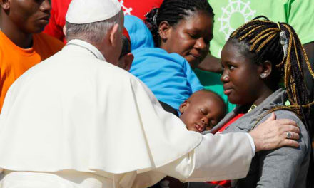 Share hope with those seeking better lives, pope says