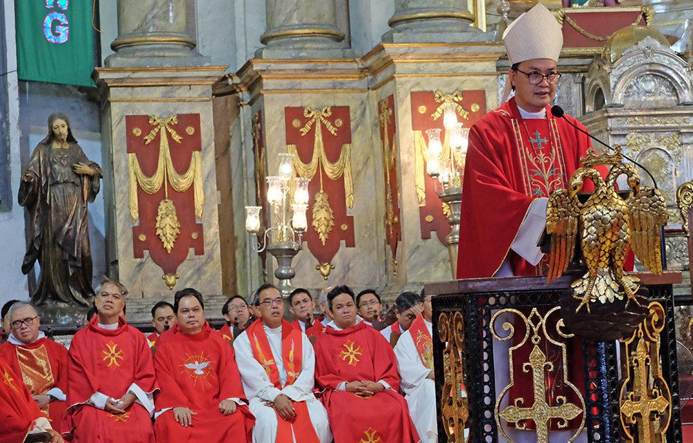 Bishop David warns against 'death of conscience'