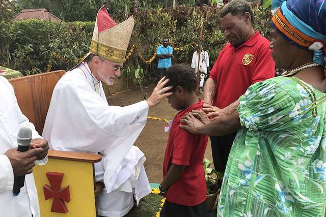 Catholics in Papua New Guinea a sign of the Church's universality