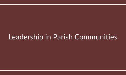Leadership in Parish Communities