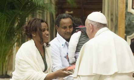 Rise in immigration makes us missionaries at home, Pope Francis says