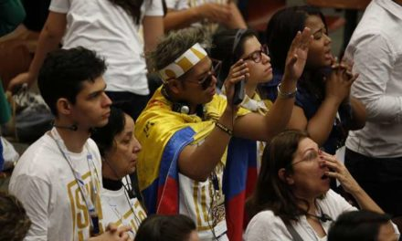 Pope tells youth to 'break the mirror' of narcissism, focus on others