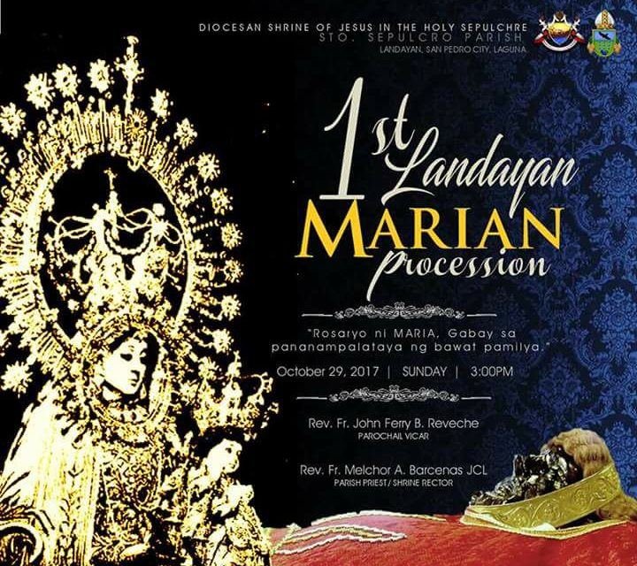 Marian procession to promote family rosary