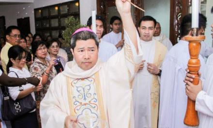 Bishop warns against impostor asking cellphone load