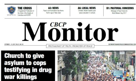 CBCP Monitor Vol 21 No 20