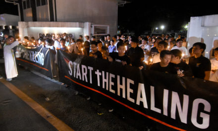 Church exec tells Duterte to 'shape up'