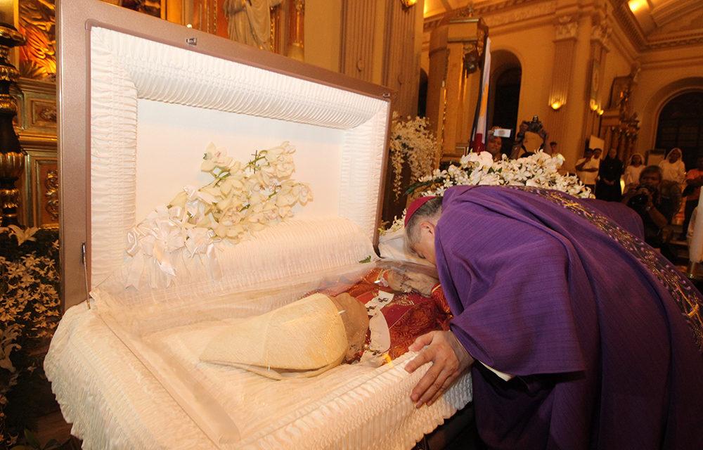 CBCP head bids Cardinal Vidal goodbye
