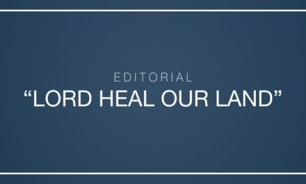 """Lord heal our land"""
