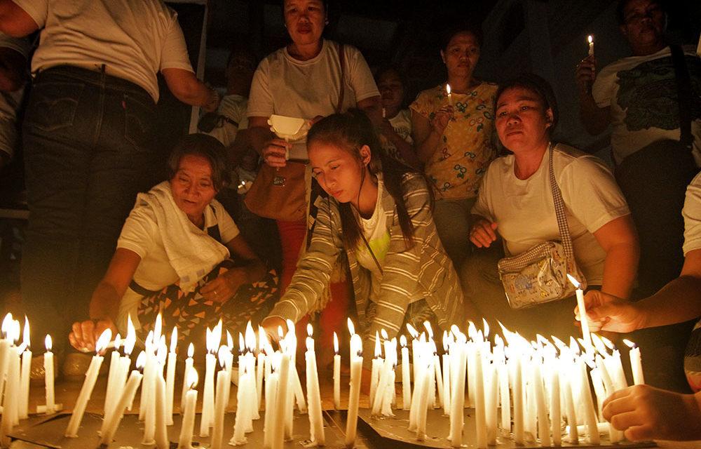 Diocese sets 9-day novena for drug war victims