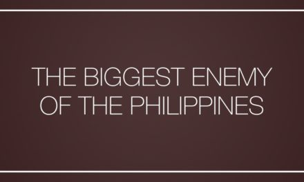 The biggest enemy of the Philippines
