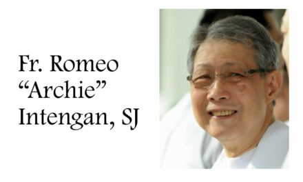 Tributes pour as Fr. Intengan dies aged 74