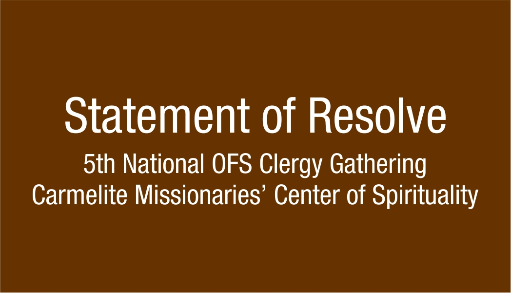 Statement of Resolve