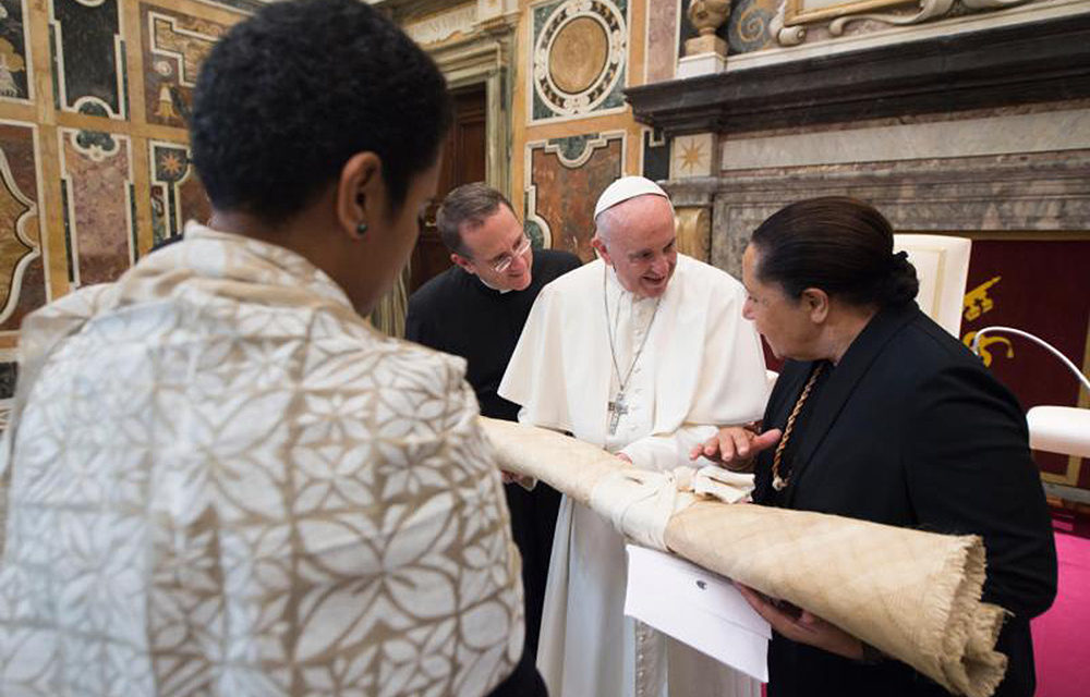 Global cooperation needed in response to climate change, pope says
