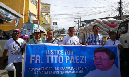 Gov't urged: Stop violence against church people