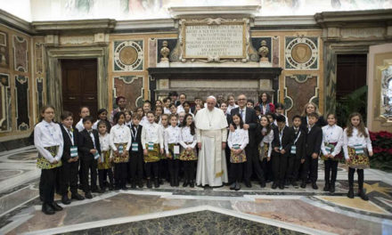 Pope Francis: Music opens our hearts to the true meaning of Christmas