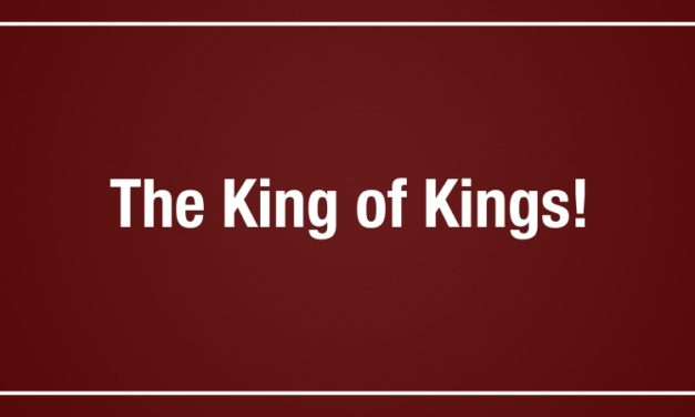 The King of Kings!