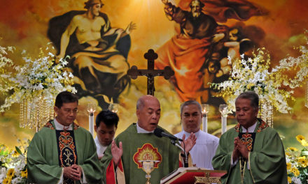 Abp. Valles leads Mass after second day of the CBCP assembly