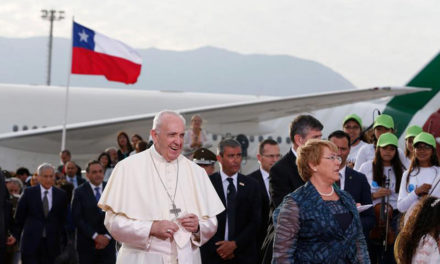 Pope begins seven-day pilgrimage to Chile, Peru