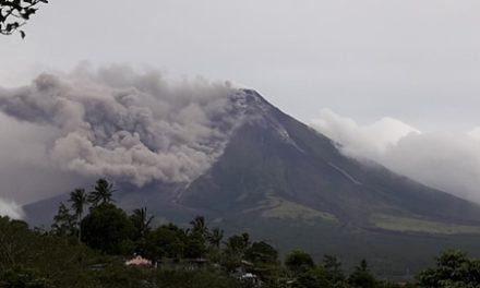 Bishop on Mayon eruption: 'Pray it doesn't worsen'