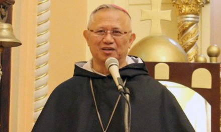 Archbishop Palma joins Dominican Order