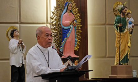 Message of CBCP President Archbishop Valles for the 116th bishops' plenary assembly