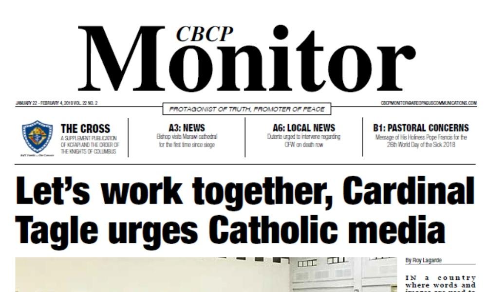 CBCP Monitor Vol 22 No 2