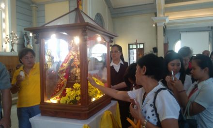 True Santo Niño devotee: a 'chaste, poor, and obedient child of God'