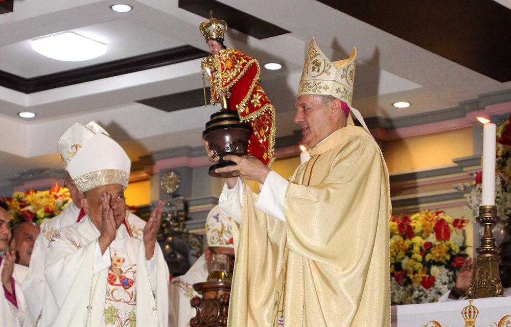 Nuncio joins Sto. Niño feast in Cebu