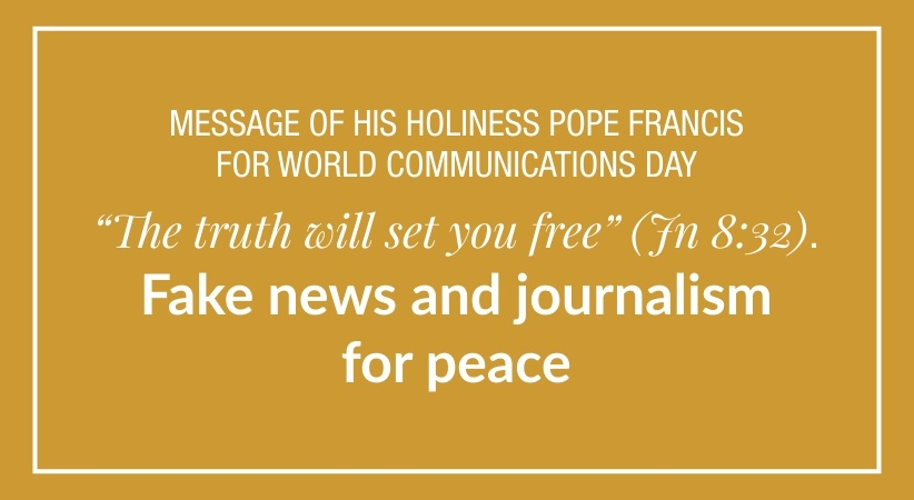 Fake news and journalism for peace