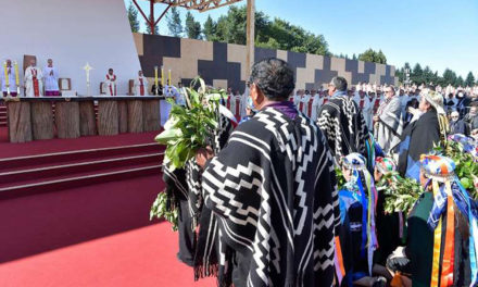 Pope appeals for unity, non-violence in Chile's torn Mapuche zone