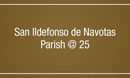 San Ildefonso de Navotas Parish @ 25
