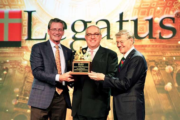 EWTN's Michael Warsaw honored for evangelization in media