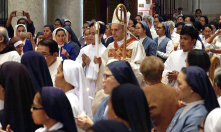 Nuncio to consecrated persons: 'Bring Christ to everyone'