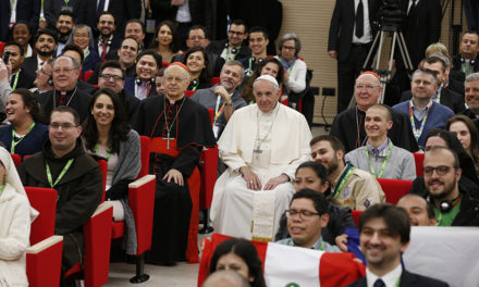 Pope asks youths to help rejuvenate church; youths ask church to listen