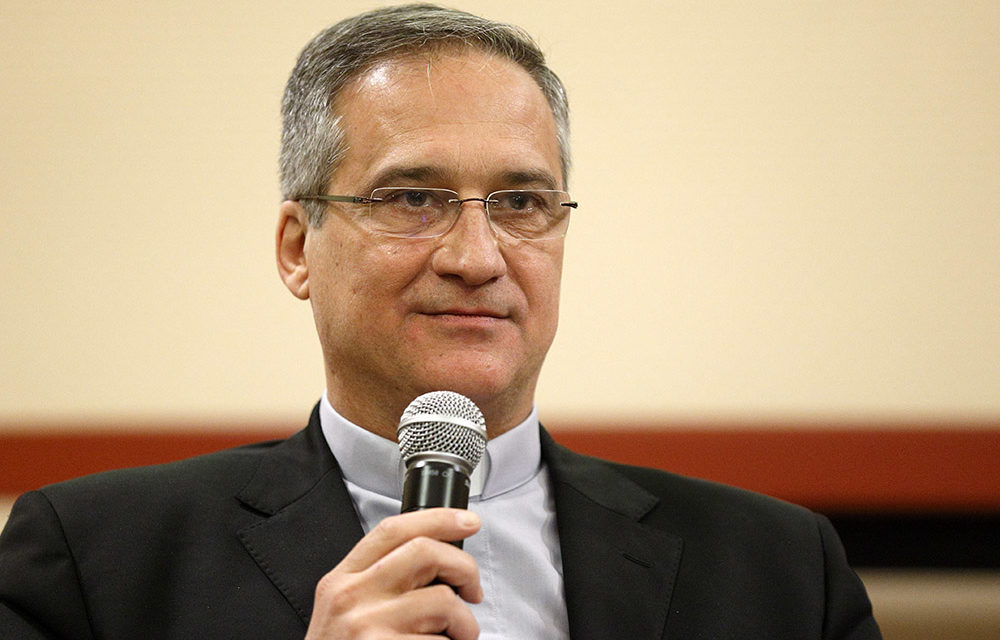 Pope accepts resignation of communications prefect