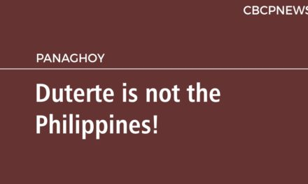 Duterte is not the Philippines!