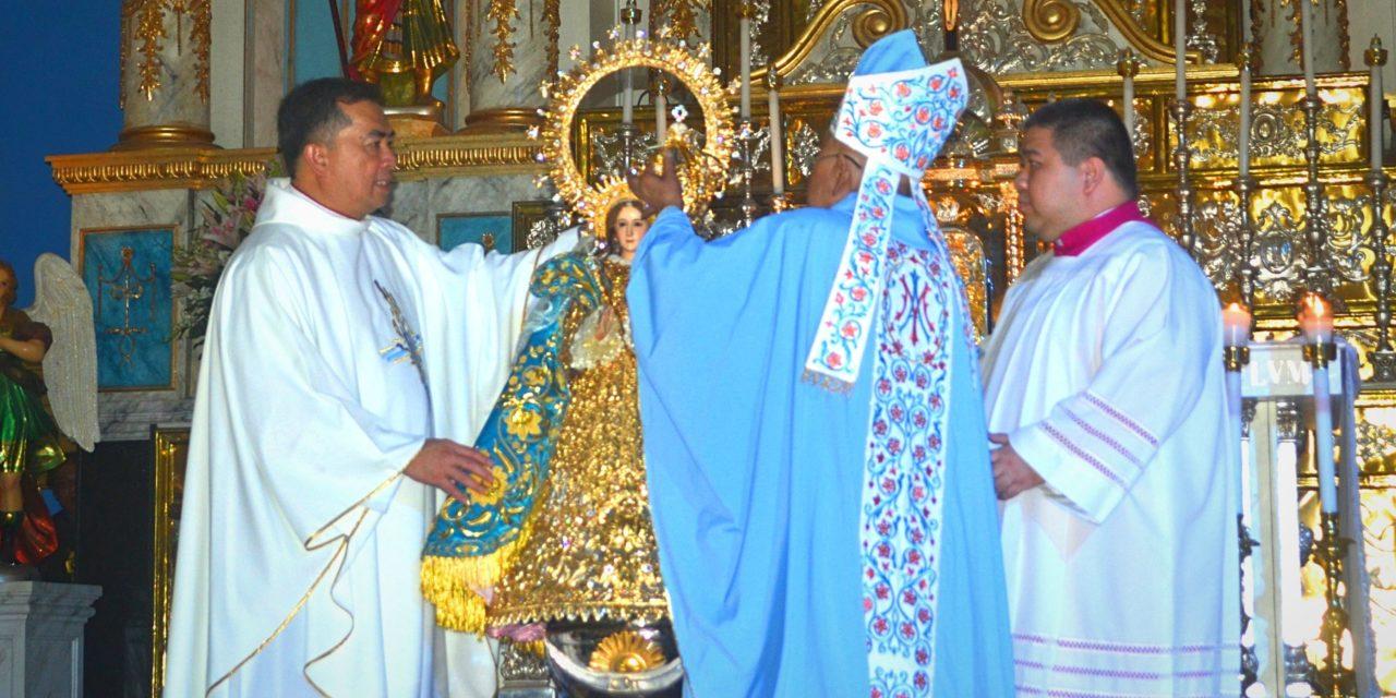 Virgin of La Purisima Concepcion episcopally crowned