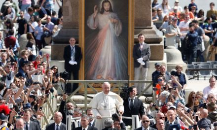 Don't be afraid of shame, open hearts to God's mercy, pope says