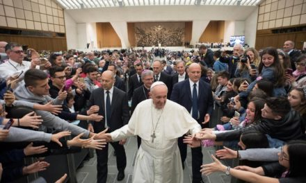 Holiness means being loving, not boring, pope says