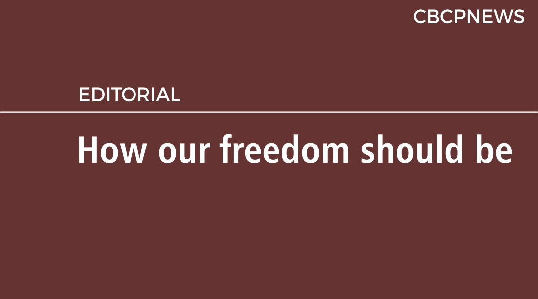 How our freedom should be