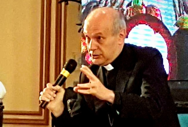Papal Nuncio to young priests: Seek advice from older priests