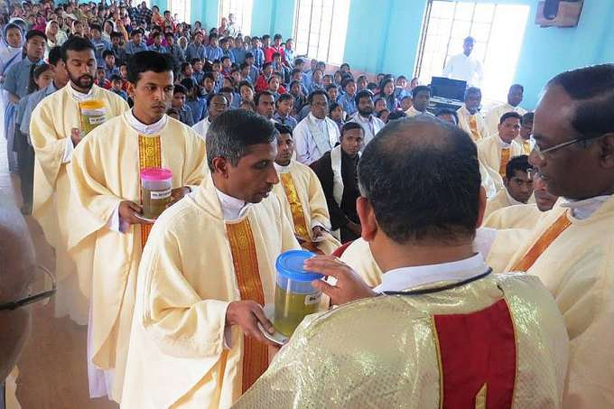 What Holy Week looks like in a remote Indian diocese