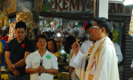Parish promotes market, prison Masses