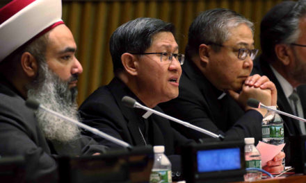 Faith groups care for refugees in ways governments can't, group tells UN